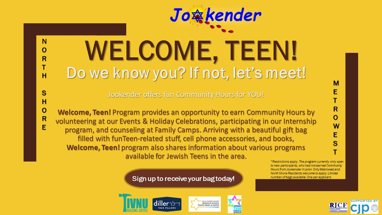 Welcome teen program