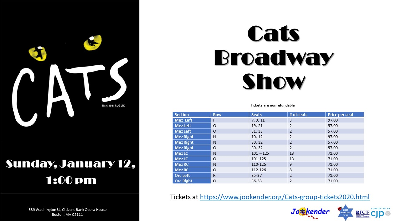 Cats Broadway Show