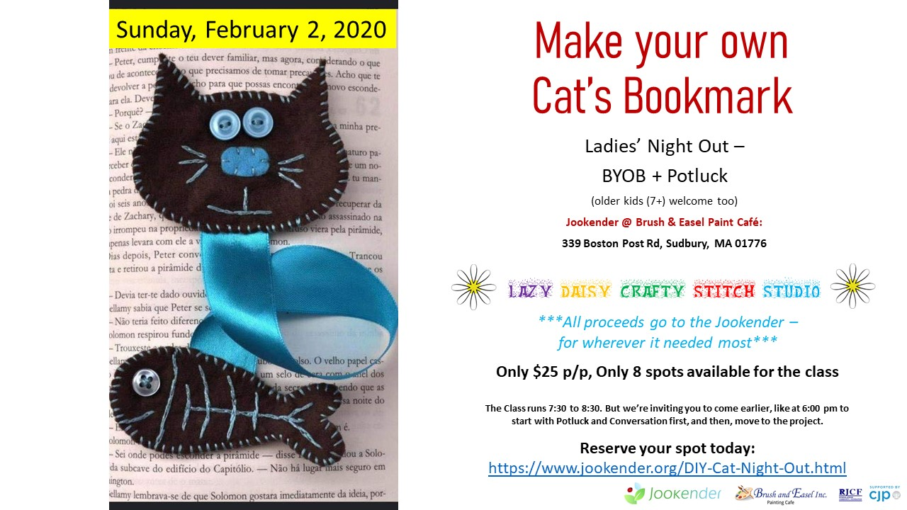 Make Your Own Cat`s Bookmark