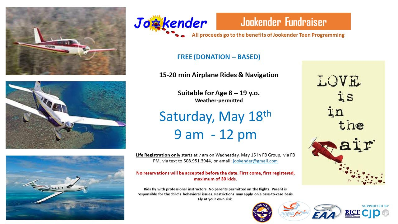 Air Adventures - Jookender Fundraiser