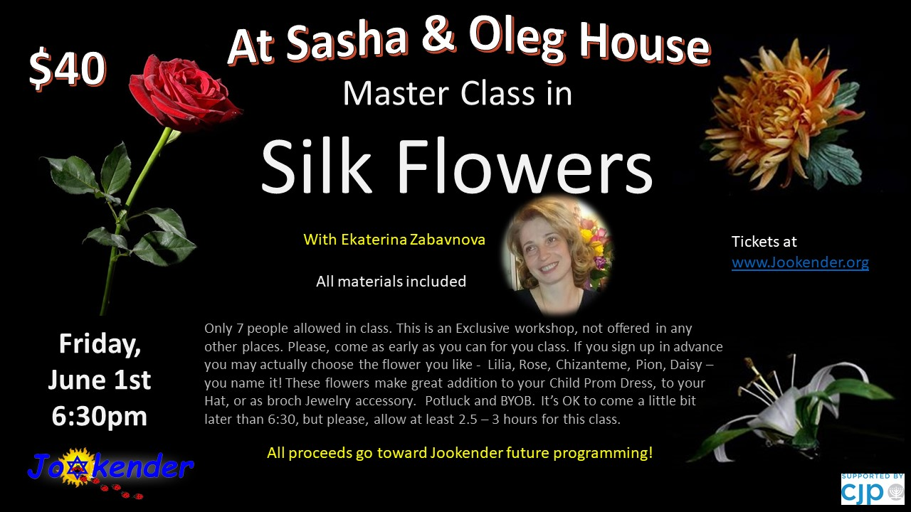 Master Class in Silk Flowers