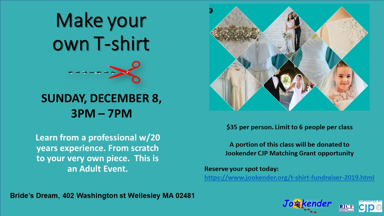 Fundraising Event: Make your own T-shirt