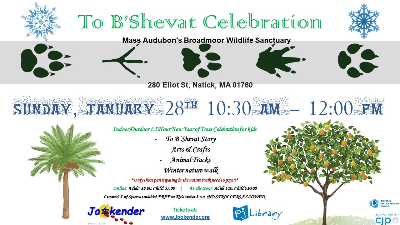 To B'Shevat Celebration