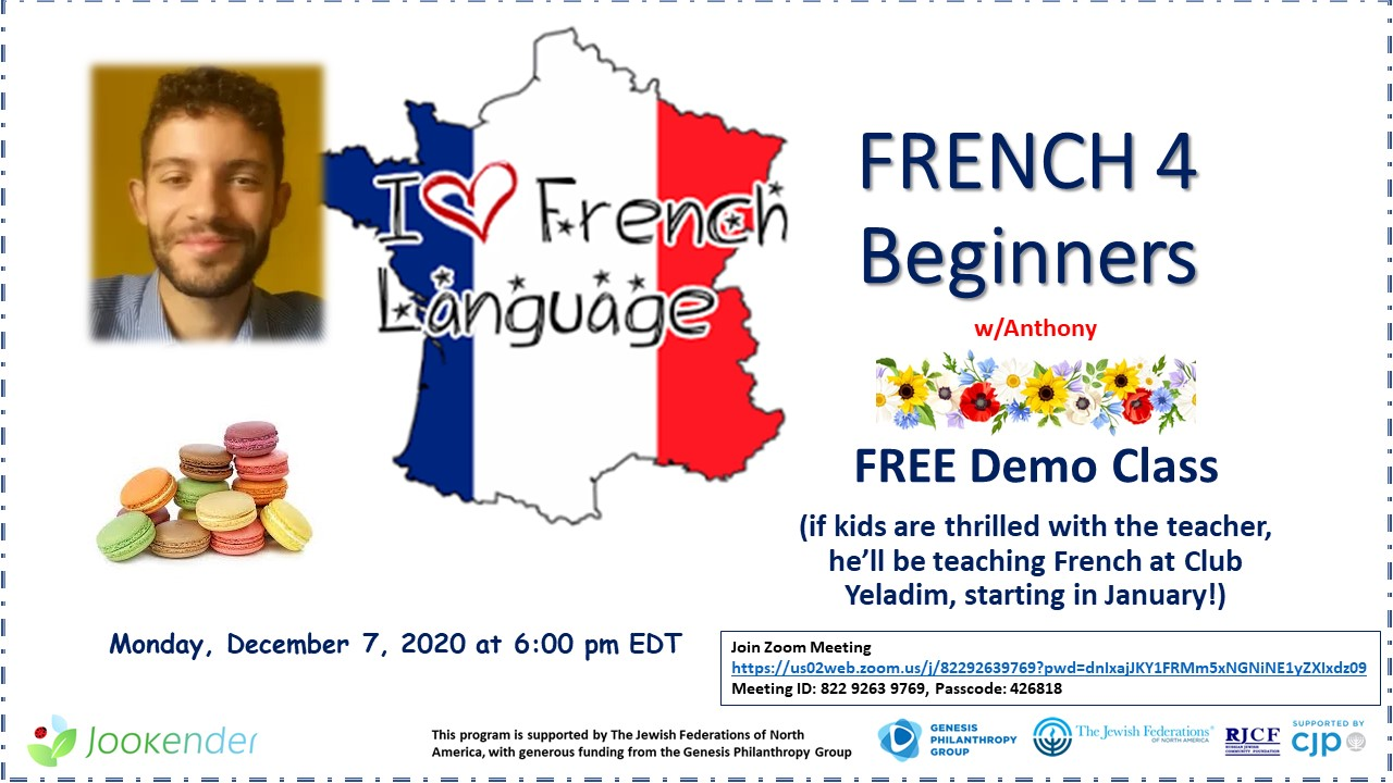 French 4 Beginners