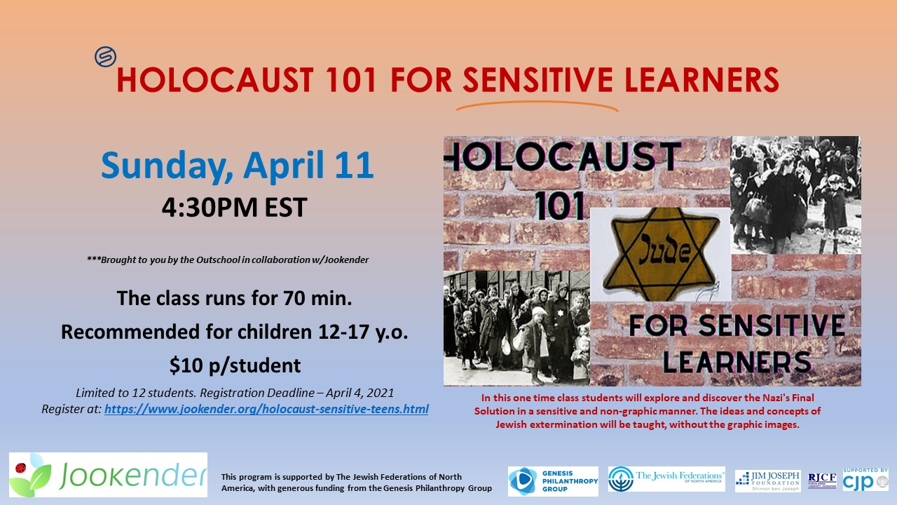 Holocaust 101 for Sensitive Learners