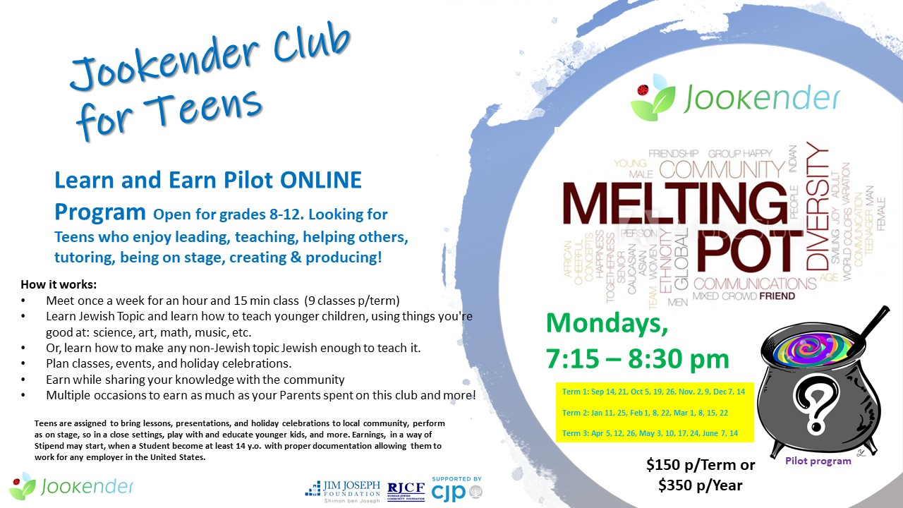 Learn and Earn Teens - Mondays