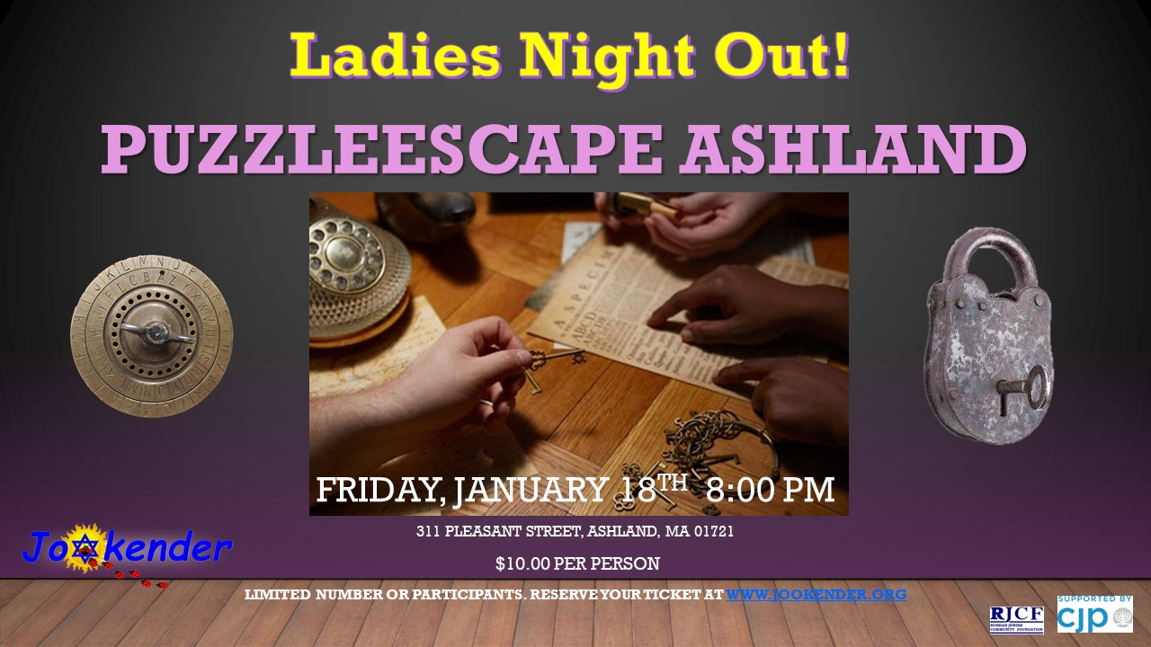 Ladies Night Out! Puzzle Escape Ashland