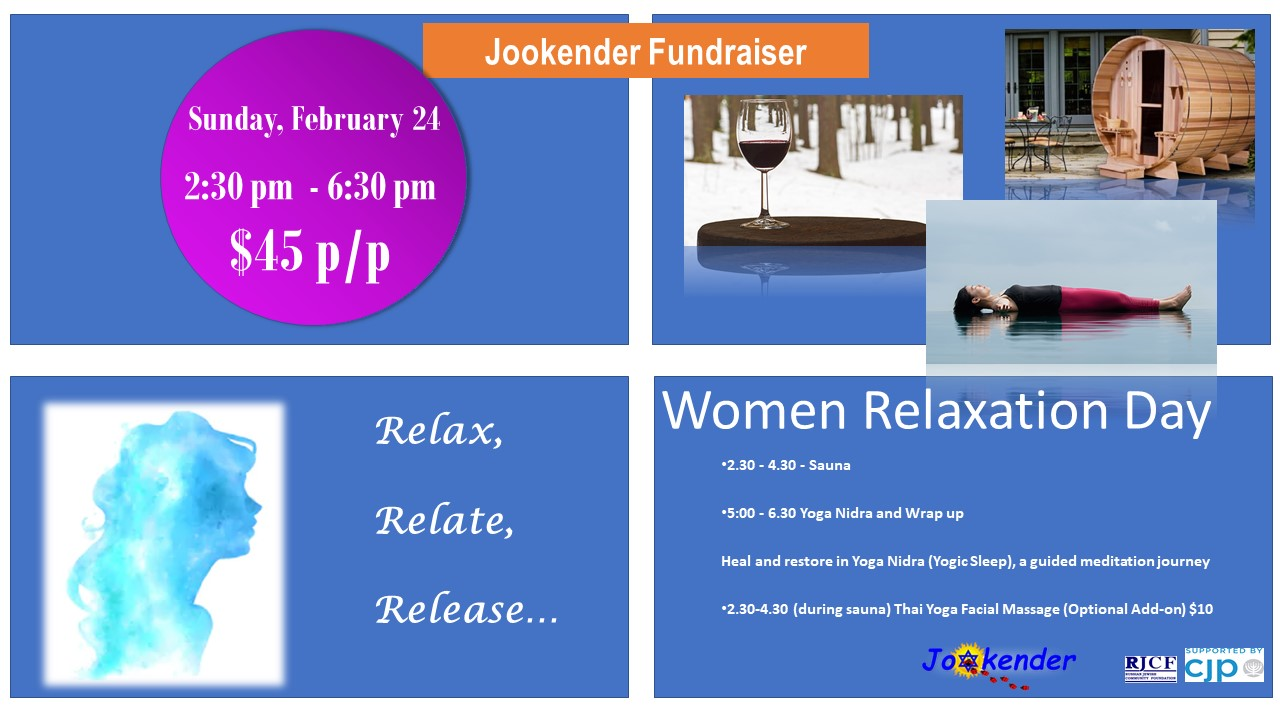 Women Relaxation Day - Jookender Fundraiser