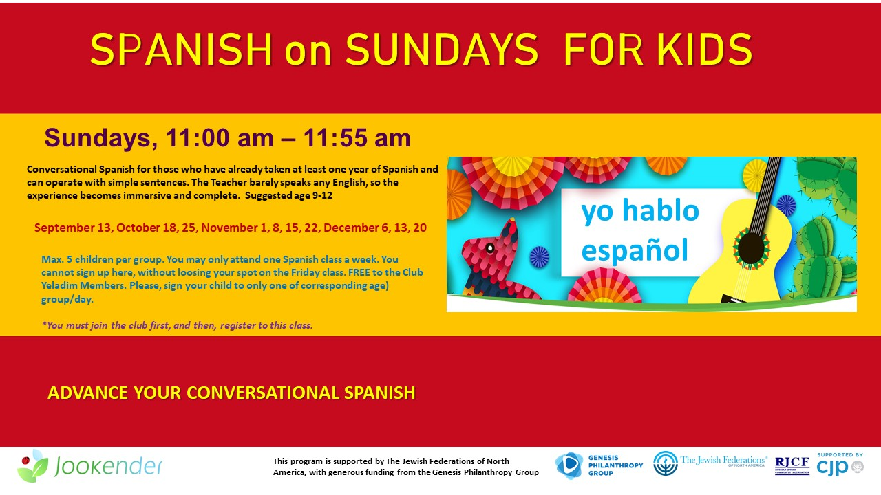 Advanced Spanish on Sundays for Children