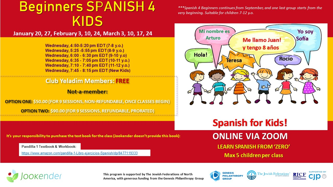 Beginners Spanish 4 Kids