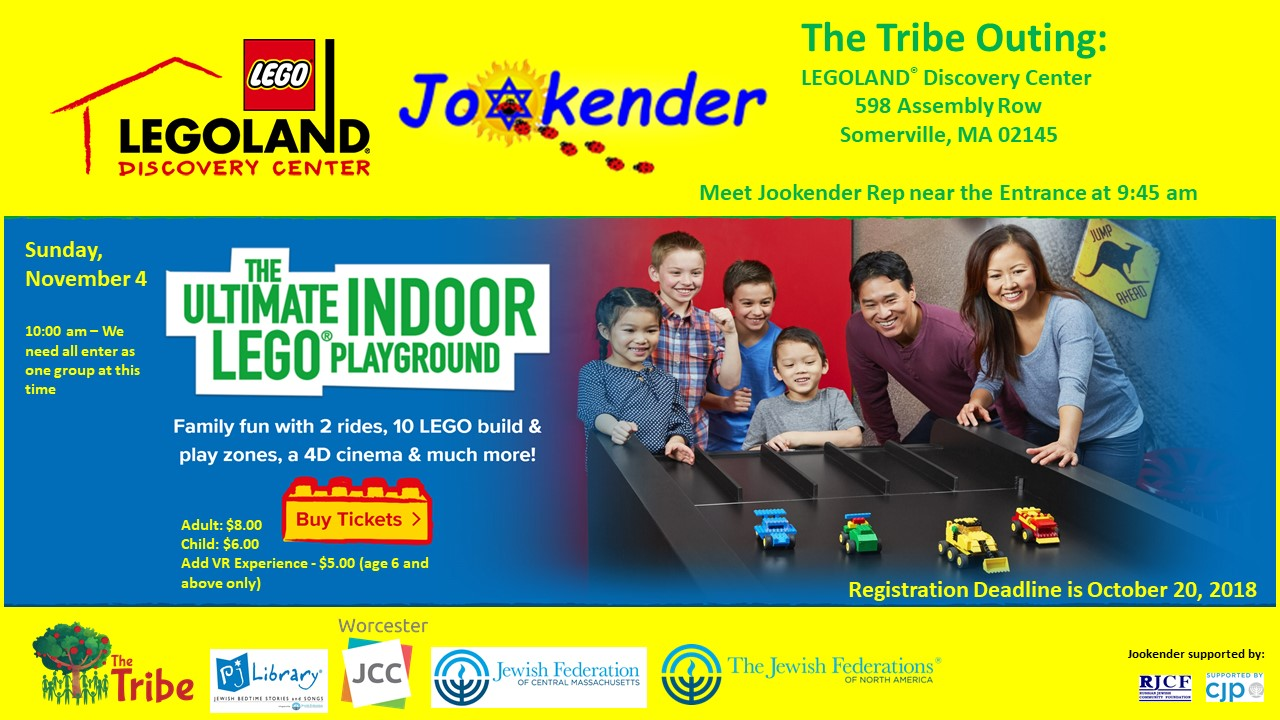 Jookender Tribe Outing - The Ultimate Lego Playground