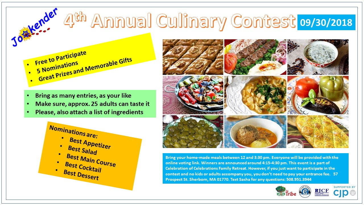 4th Annual Culinary Contest