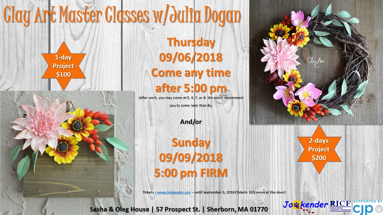 Clay Art Master Classes with Julia Dogan
